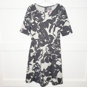 Vince Camuto Heavy Jersey Knit Floral Dress